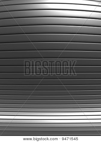 Aluminum Abstract Stripe Pattern