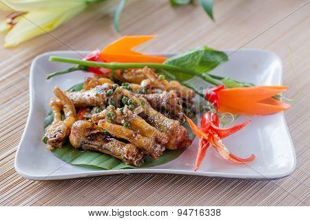 Chicken Feet Asian food