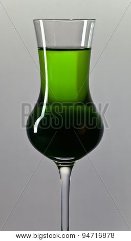 Green Alcoholic Drink