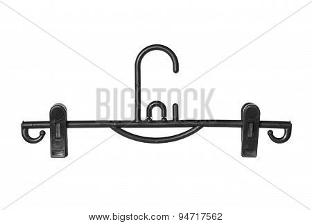 Clothes Hanger With Clips