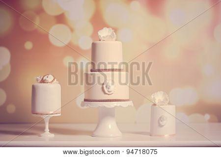 3 Wedding Cakes