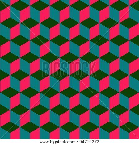 Geometric Bright Seamless Pattern