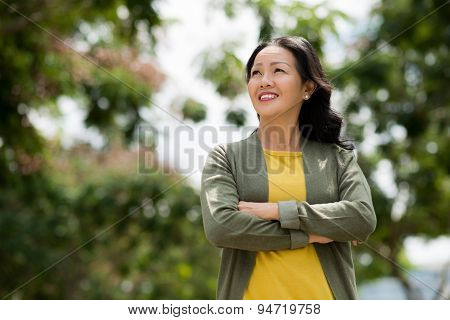 Mature Vietnamese woman