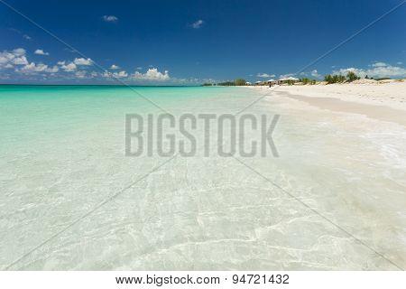 Photo Of White Sand Beach.