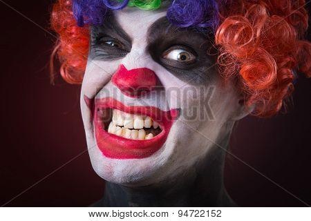 crazy clown a terrible death
