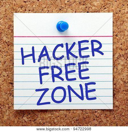 Hacker Free Zone