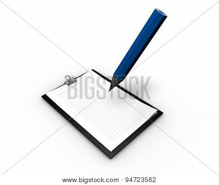 Writing Letter And Curriculum Concept Illustration Isolated
