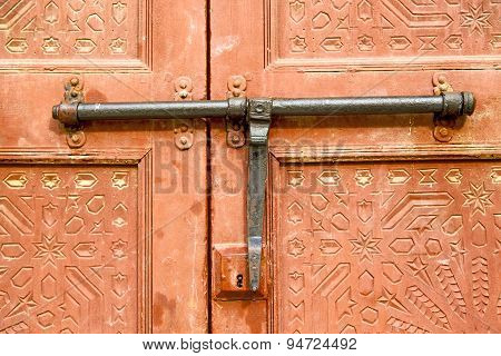 Morocco Knocker In Africa The Brown Red