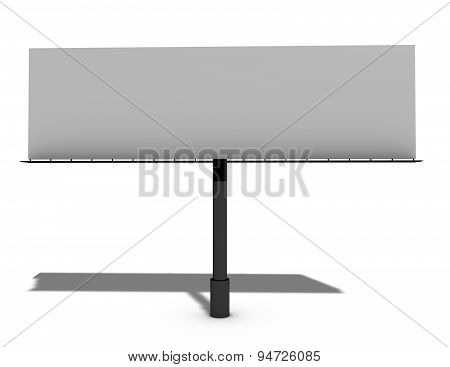Blank Billboard With Copy Space Isolated