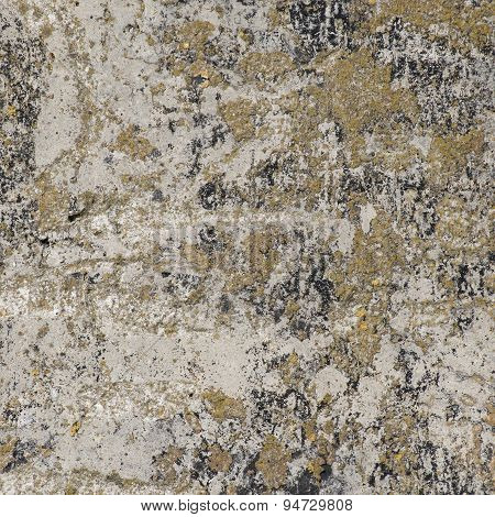 Old Wall Of Concrete, Background Texture