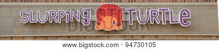 Slurping Turtle Logo