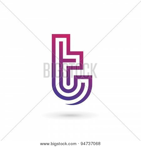 Letter T Logo Icon Design Template Elements