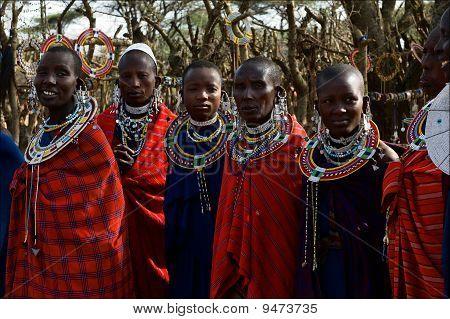 Masai Women.