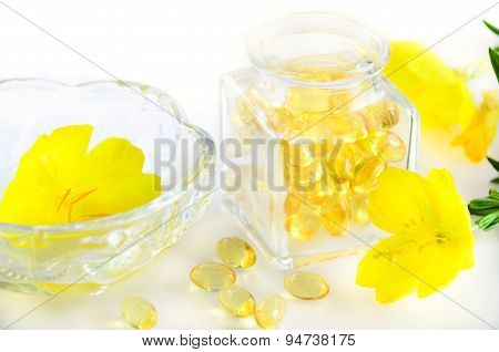 evening primrose and supplement