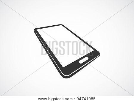 smartphone black icon