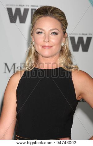 LOS ANGELES - JUN 16:  Elisabeth Rohm at the Women In Film 2015 Crystal + Lucy Awards at the Century Plaza Hotel on June 16, 2015 in Century City, CA