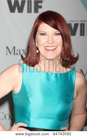 LOS ANGELES - JUN 16:  Kate Flannery at the Women In Film 2015 Crystal + Lucy Awards at the Century Plaza Hotel on June 16, 2015 in Century City, CA
