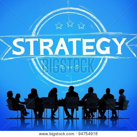 Strategy Planning Business Motivation Success Concept