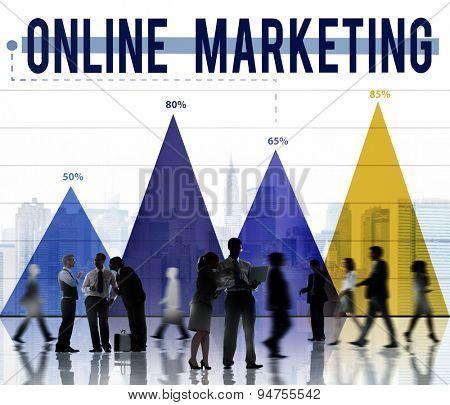 Online Marketing Internet Advertising Branding Concept