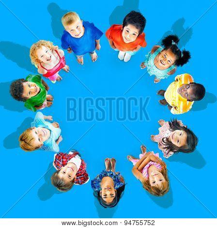 Kids Children Connection Concept