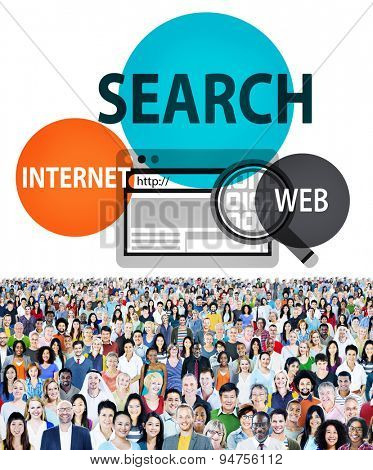 Search Online Web Internet Technology Concept