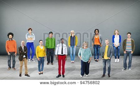 Diversity People Community Standing Concept