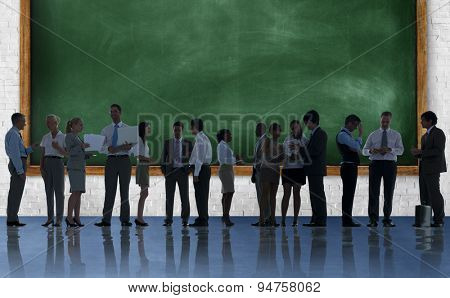 Corporate Business Team Discussion Meeting Concept