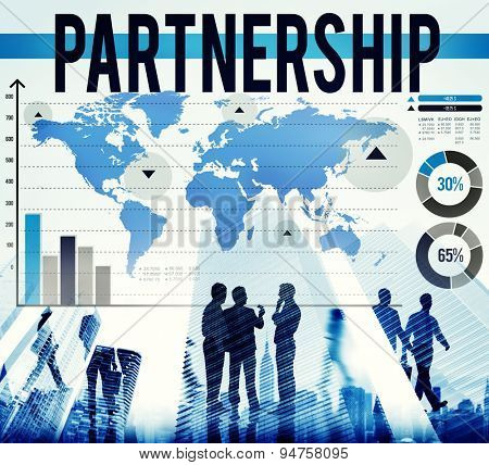 Partnership Collaboration Team Togetherness Concept