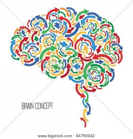 Vector concept - Brain