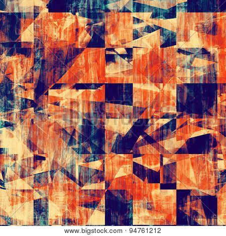 Old grunge antique texture. With different color patterns: yellow (beige); blue; purple (violet); red (orange)