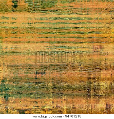 Grunge colorful background. With different color patterns: yellow (beige); brown; gray; green