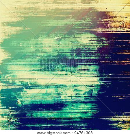 Vintage texture ideal for retro backgrounds. With different color patterns: yellow (beige); blue; cyan; green