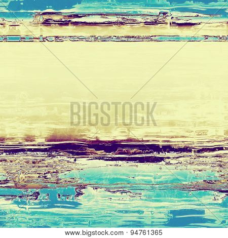Old school textured background. With different color patterns: yellow (beige); gray; blue; purple (violet)