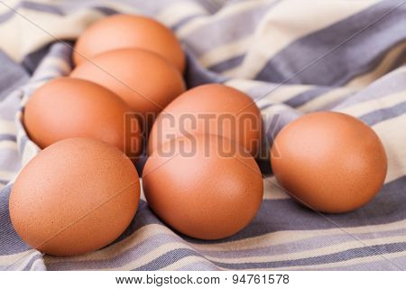 close up photo fresh eggs