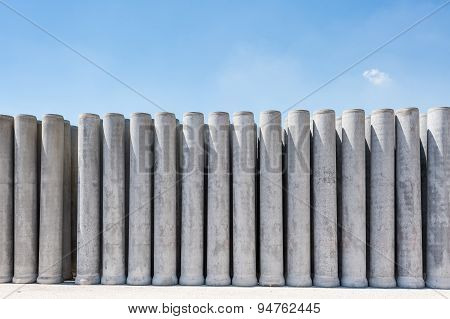 Pipe Of Cement
