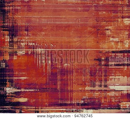 Old school textured background. With different color patterns: yellow (beige); brown; purple (violet); red (orange)