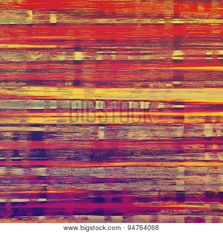 Abstract grunge background or old texture. With different color patterns: yellow (beige); purple (violet); pink; red (orange)