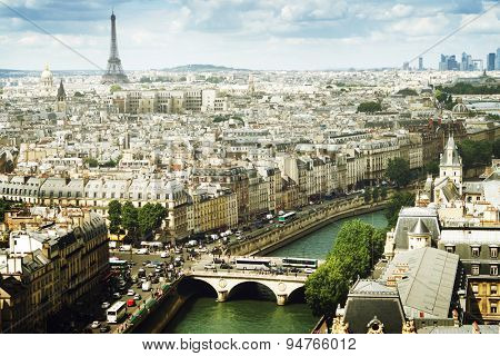 View on  Paris, France