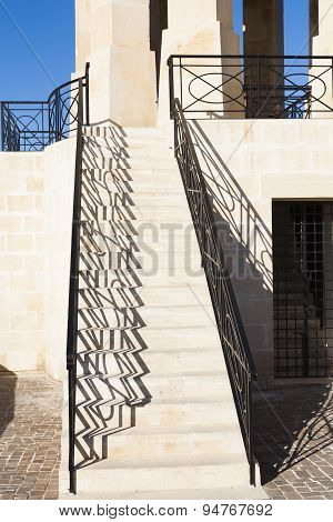 Steps Leading To Maltese War Memorial