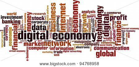 Digital Economy Word Cloud