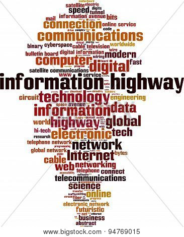 Information Highway Word Cloud