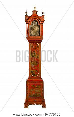 Tall Longcase Grandfather Grandaughter Clock