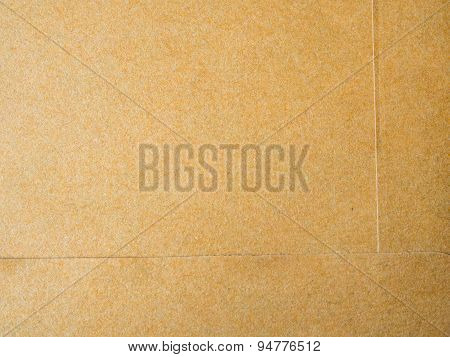 Brown background from paper envelopes.