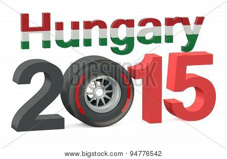 F1 Formula 1 Hungary Grand Prix In Hungaroring 2015 Concept