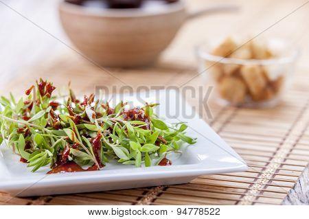 Edible Sedum Salad.