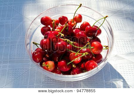 Cherry In A Bowl