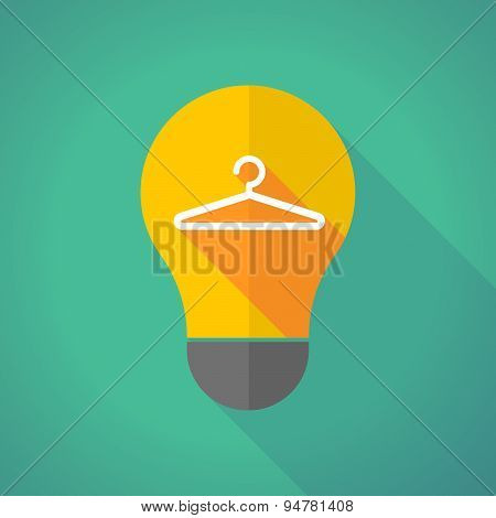 Long Shadow Light Bulb With A Hanger