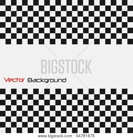 Abstract Checker Vector Illustration Background