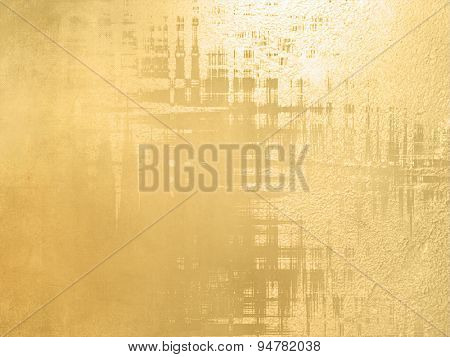 Elegant gold background - abstract luxury design