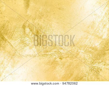 Gold background texture in soft vintage style